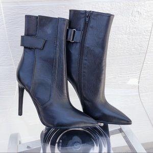 Jeffery Campbell ankle high heel booties